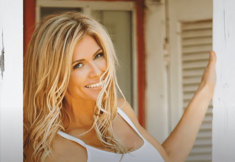Former WWE Superstar Torrie Wilson talks about her love for fitness on October 21, 2016. | Source: YouTube/WWE