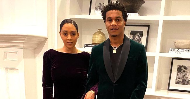 Tia Mowry's Husband Cory Hardrict Kisses Her Tenderly in a Throwback Photo