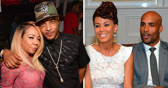 TI & Tiny Harris Ask Boris Kodjoe & Nicole Ari Parker How They Manage to Keep Their Marital Issues out of the Public Eye