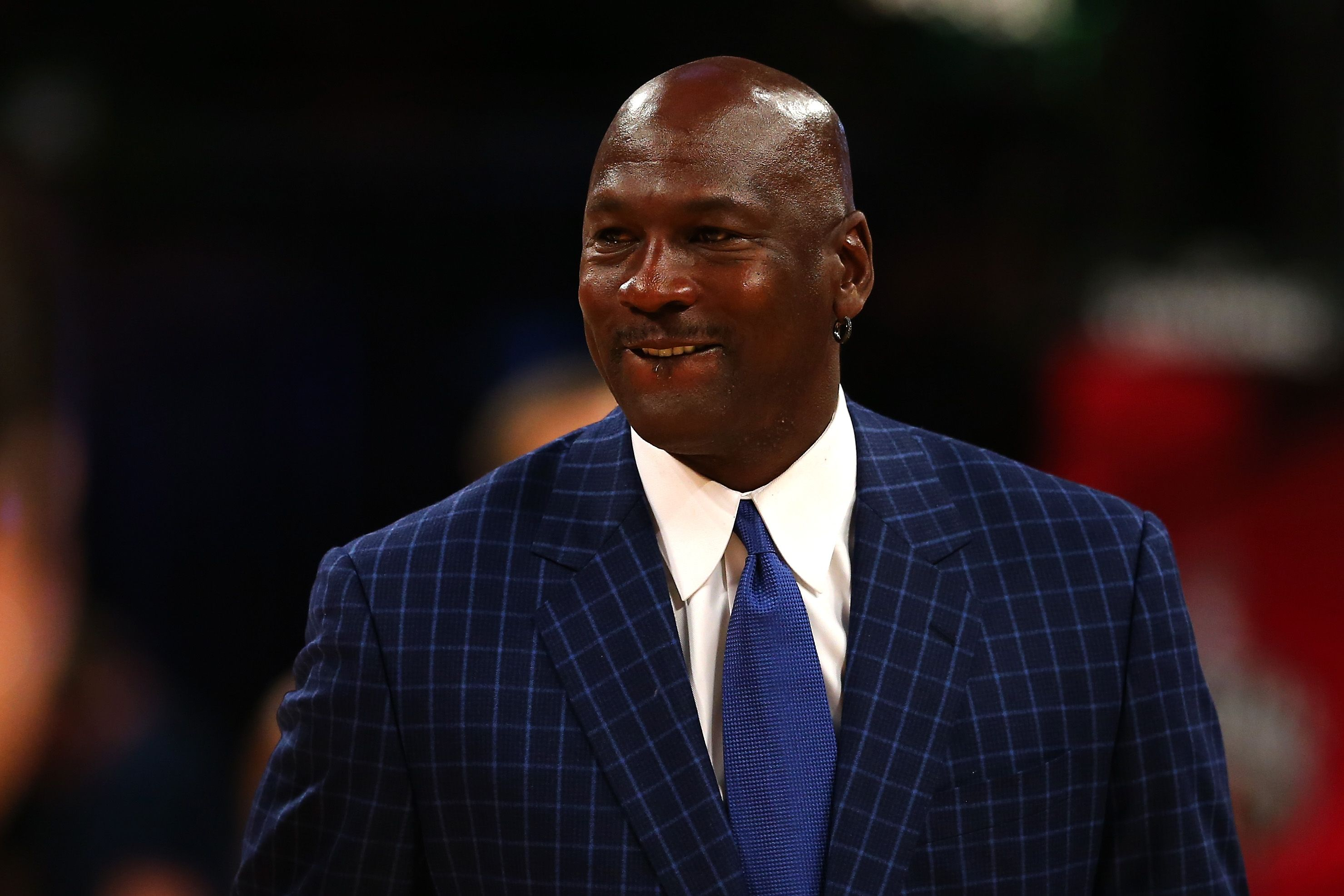 Michael Jordan walks off the court at the NBA All-Star Game 2016 at the Air Canada Centre on February 14, 2016   Photo: Getty Images