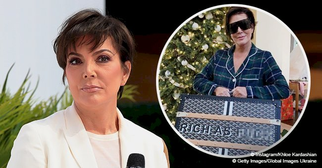 Kris Jenner gets slammed  because of her new $16K bag with a provocative writing about her wealth