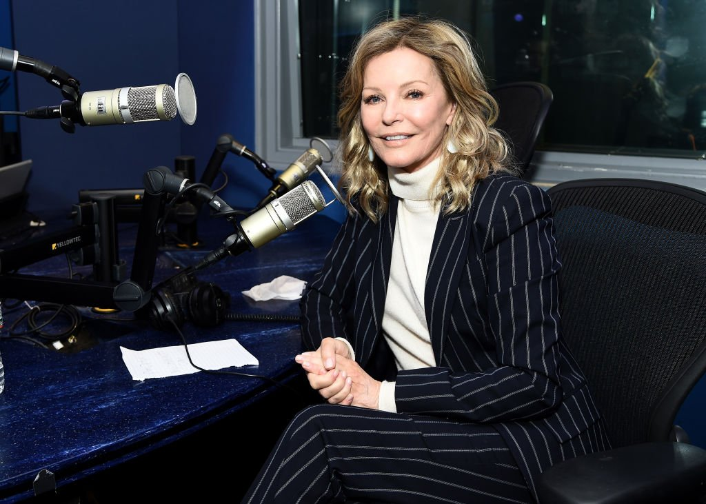 Cheryl Ladd visiting SiriusXM in New York, on March 11, 2020. | Photo: Getty Images.