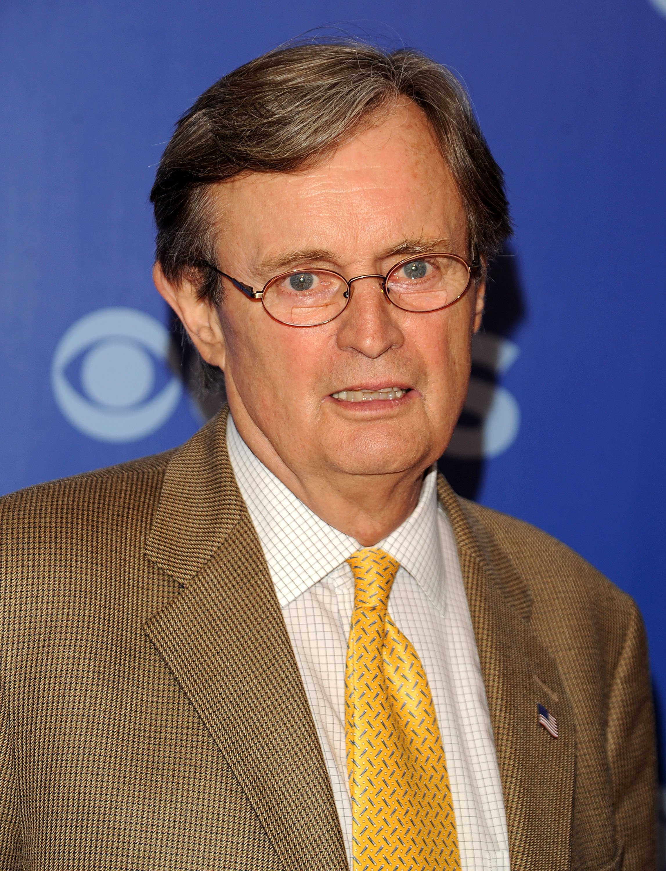 Actor David McCallum attends the 2010 CBS Upfront. Source: Getty Images/GlobalImagesUkraine