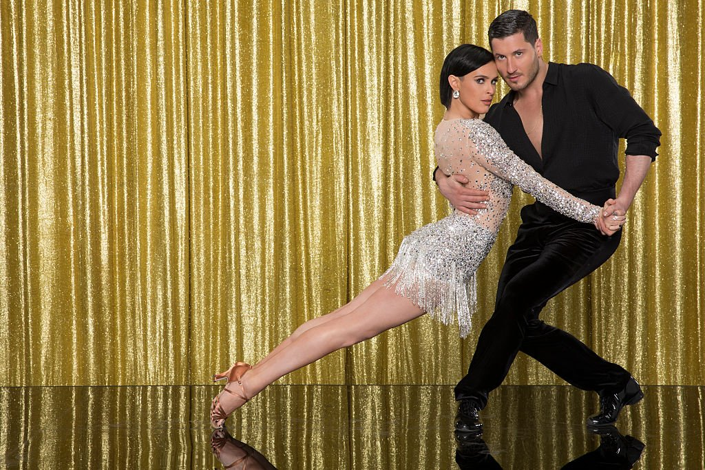 """Rumer Willis and Val Chmerkovskiy during Season 20 of """"Dancing with the Stars"""". 
