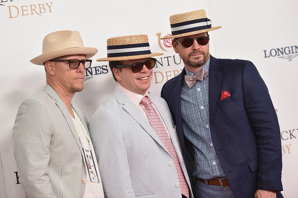 Jim Wahlberg, Paul Wahlberg, and Robert Wahlberg attend the 142nd Kentucky Derby at Churchill Downs on May 07, 2016 | Photo: GettyImages
