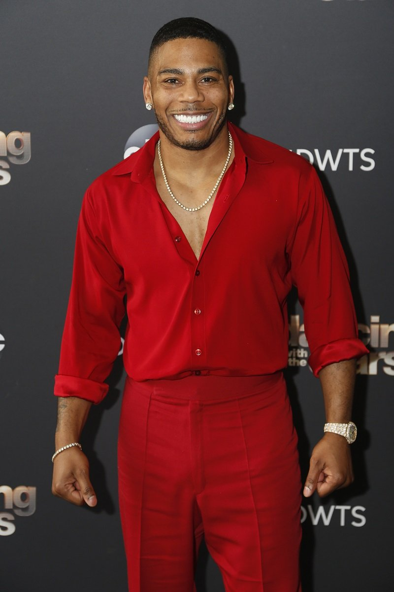 """Nelly during the """"Dancing with the Stars"""" Season Premiere event on September 14, 2020   Photo: Getty Images"""