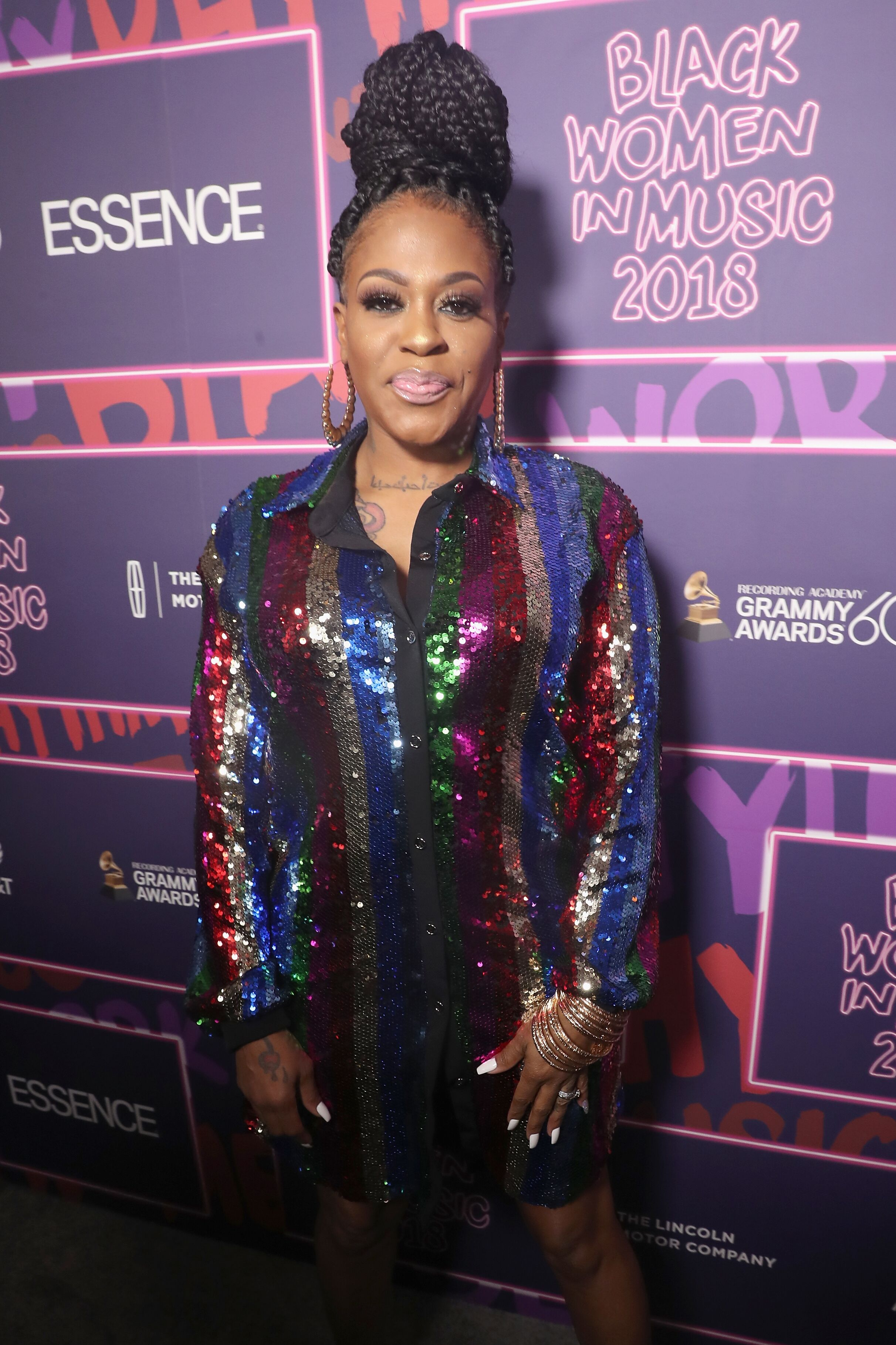 Lil Mo at the Black Women in Music 2018 event/ Source: Getty Images