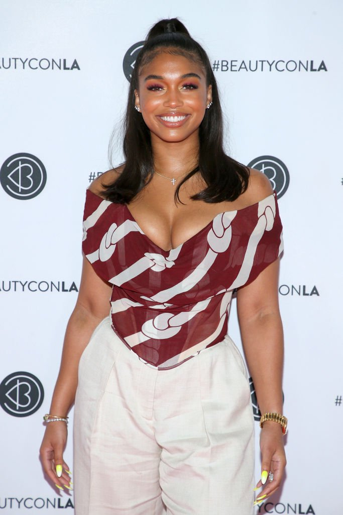 Lori Harvey at Beautycon Los Angeles, August 2019   Source: Getty Images