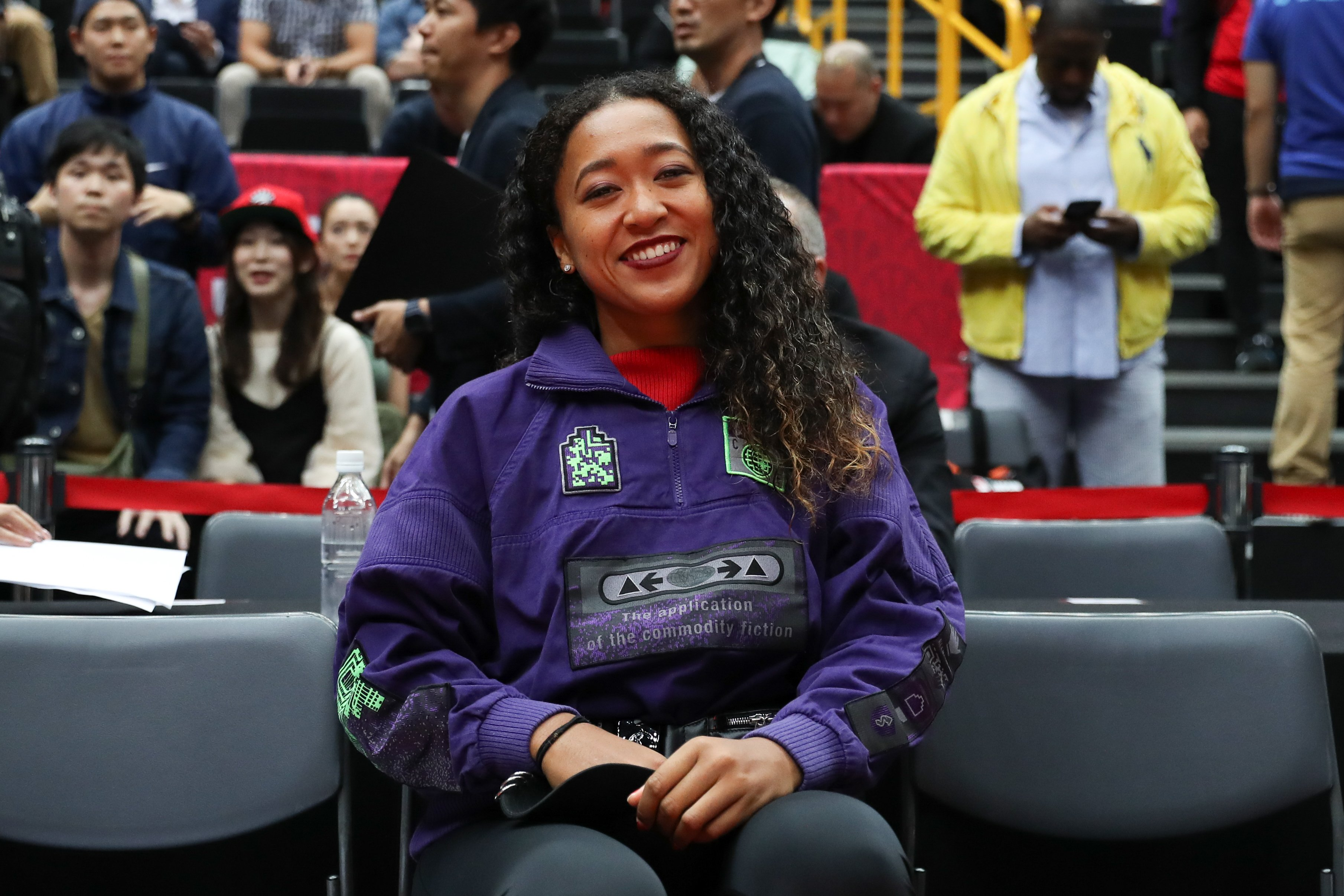 Tennis star Naomi Osaka poses for a photo before a match at Super Arena on October 10, 2019 in Saitama, Japan | Photo: Getty Images