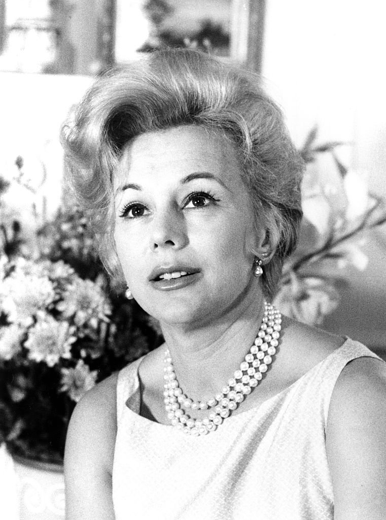 Eva Gabor, late Hungarian actress | Photo: Getty Images