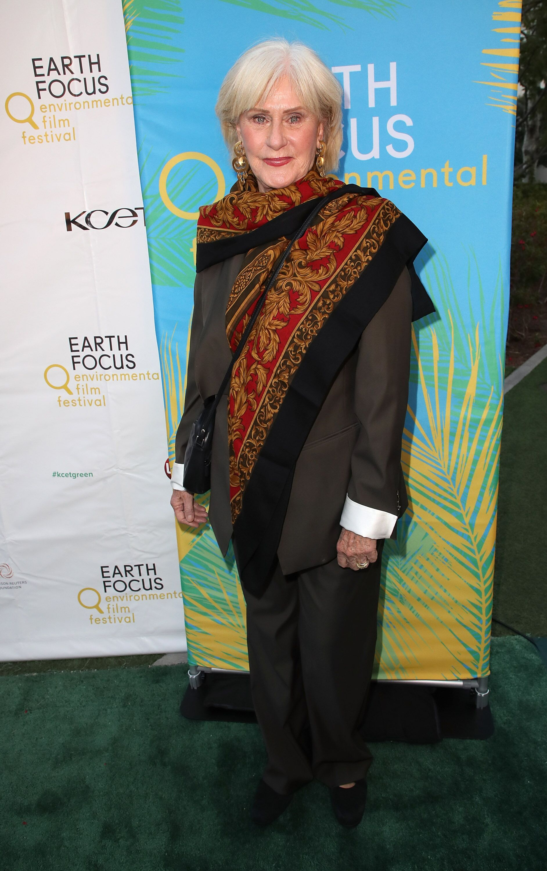 "Susan Clark attends the opening night of KCET & Link TV's EARTH FOCUS Environmental Film Festival screening of ""Love & Bananas - An Elephant Story."" 