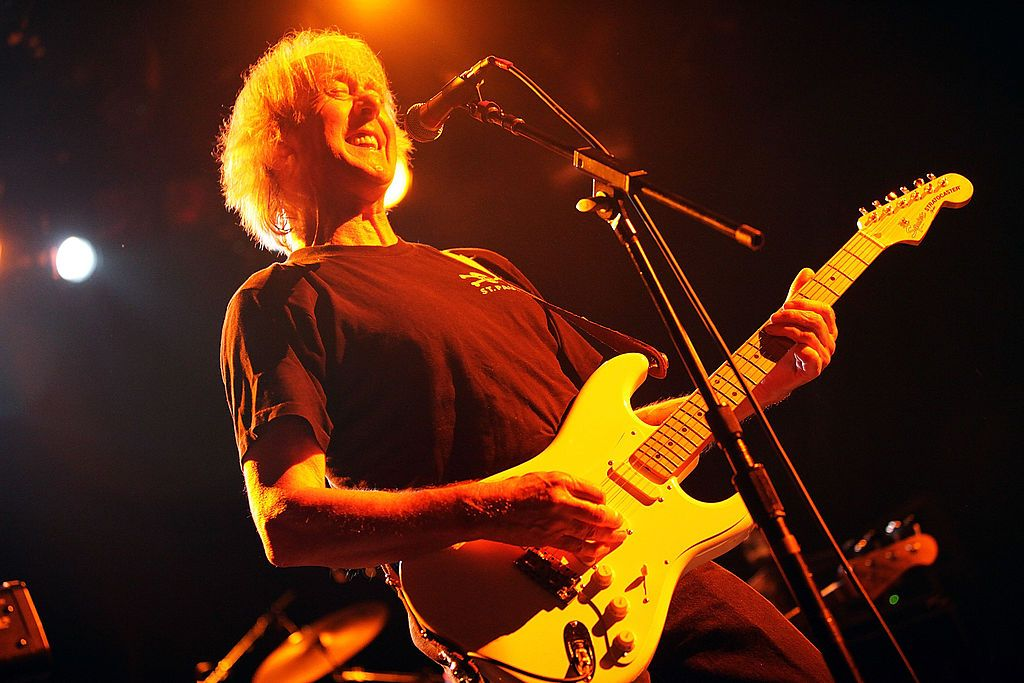 Spencer Davis of The Spencer Davis Group at The Fillmore New York at Irving Plaza on July 10, 2009 in New York City | Photo: Getty Images