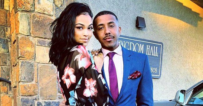 See How Beautiful Marques Houston's 19-Year-Old Wife Miya Looks with Makeup on & in a White Top
