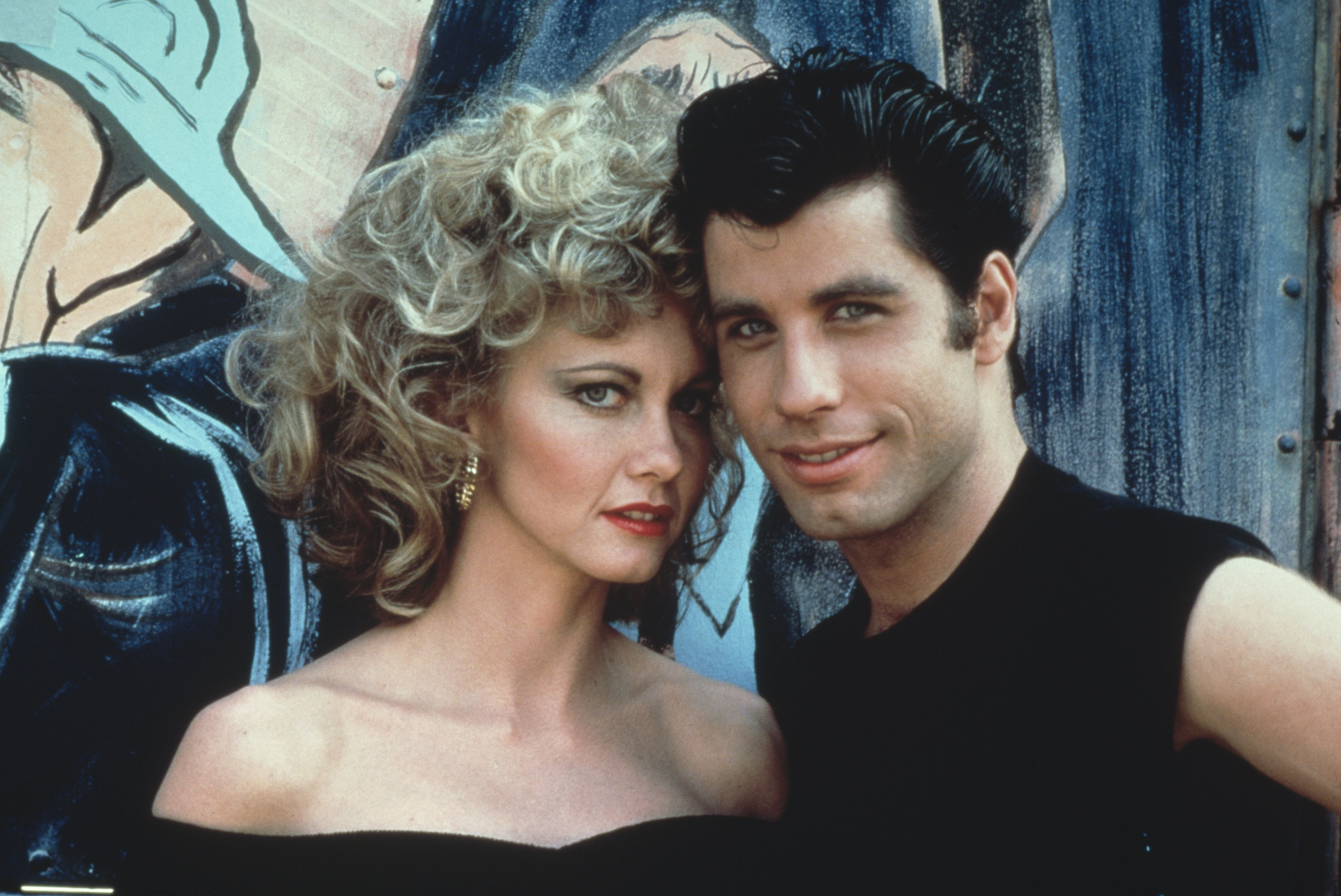 """Olivia Newton-John and John Travolta appear in 1978's hit classic film, """"Grease"""" 