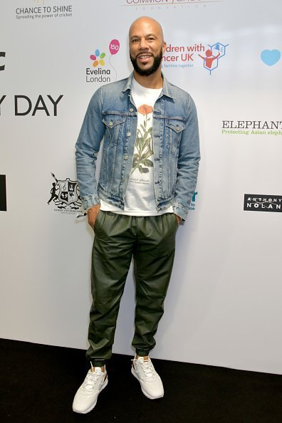 Common representing the Common Ground Foundation at BGC Charity Day in London, England.| Photo: Getty Images.