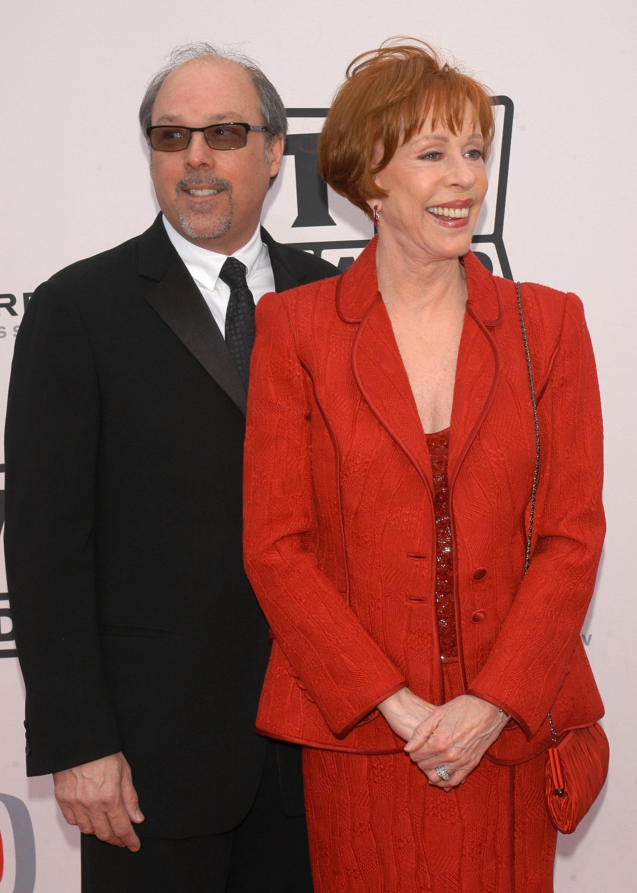 Carol Burnett and Brian Miller at the 2005 TV Land Awards on March 13, 2005 | Photo: GettyImages