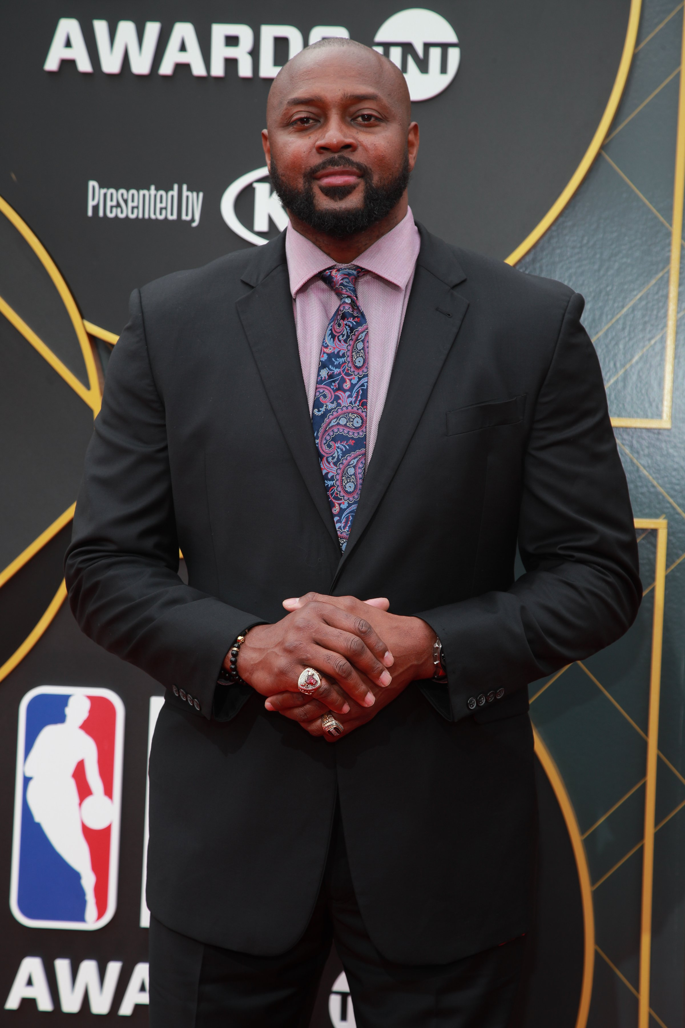 Horace Grant attends the 2019 NBA Awards at Barker Hangar on June 24, 2019   Photo: Getty Images