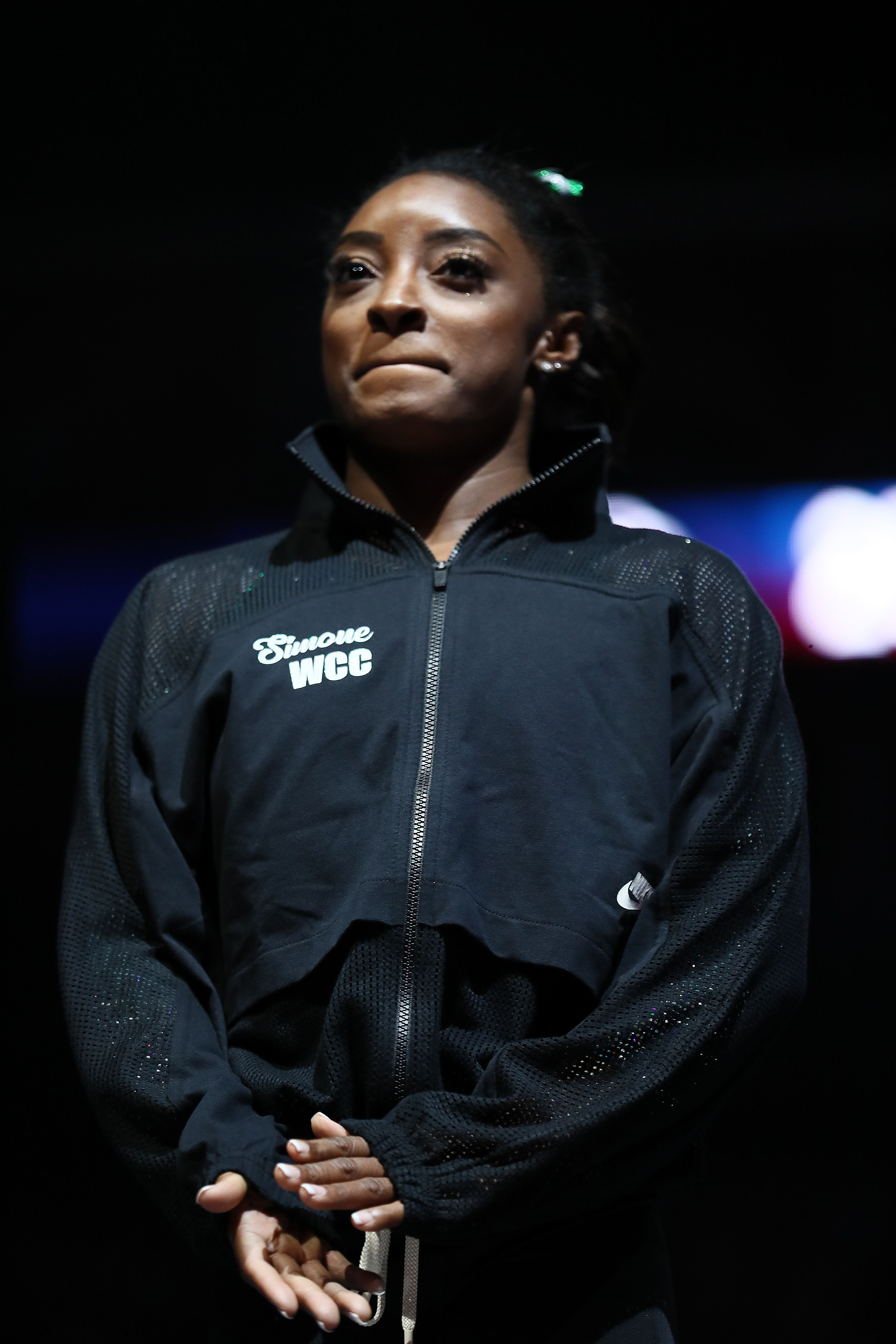 Simone Biles during the Senior Women's competition of the 2019 U.S. Gymnastics Championships at the Sprint Center on August 09, 2019 in Kansas City, Missouri. | Source: Getty Images