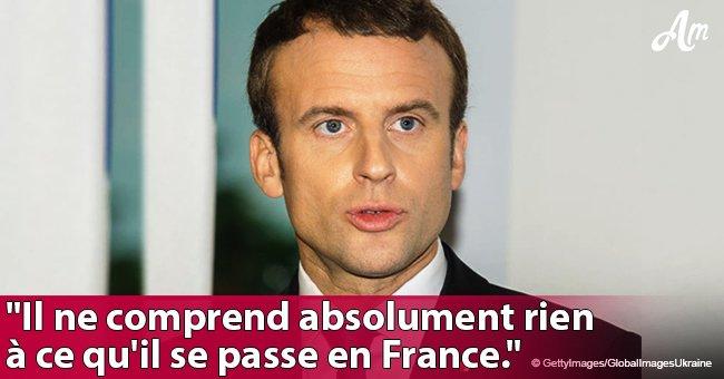 """""""On a mis un gamin à L'Elysée"""": Emmanuel Macron est attaqué par un célèbre ministre en direct (Vidéo)"""