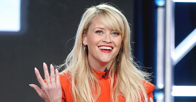 See This Funny Pic of Reese Witherspoon's Look-Alike Son Tennessee, 7, Hanging Upside Down