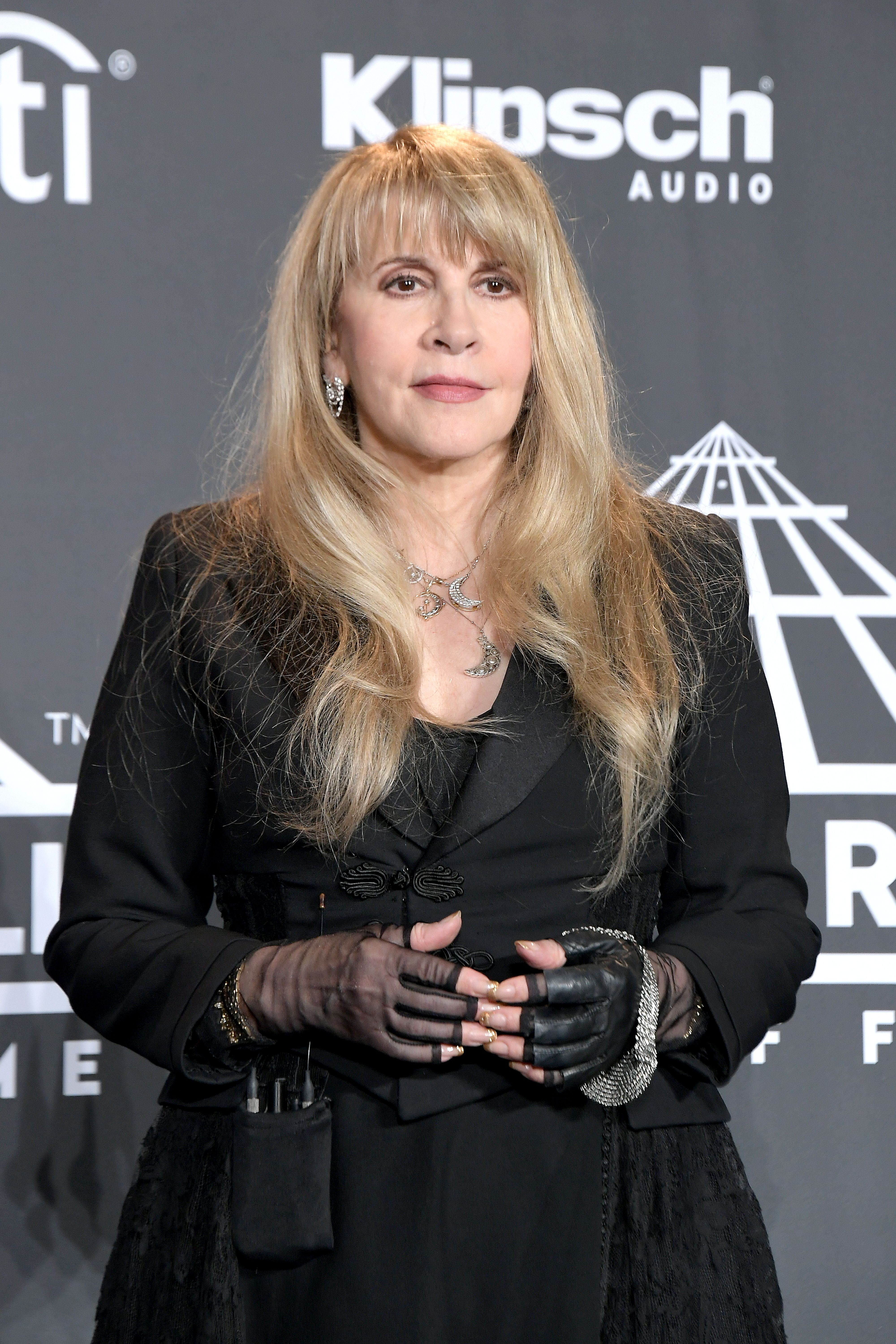 Stevie Nicks during the 2019 Rock & Roll Hall Of Fame Induction Ceremony at Barclays Center on March 29, 2019 in New York City.   Source: Getty Images