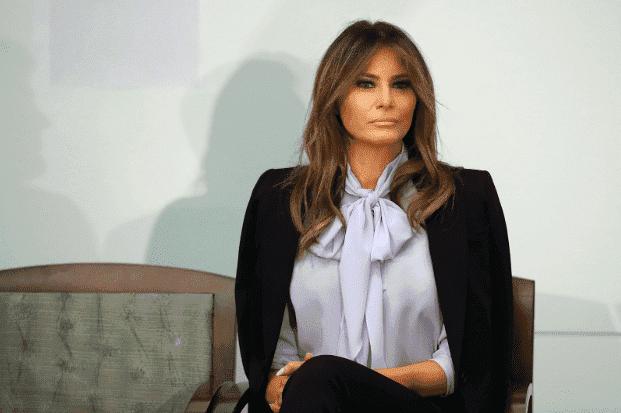 Melania Trump | Quelle: Getty Images / FaceApp