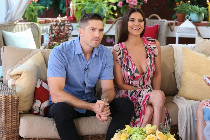 Eric Winter and Roselyn Sanchez on July 31, 2019 in Universal City, California | Photo: Getty Images