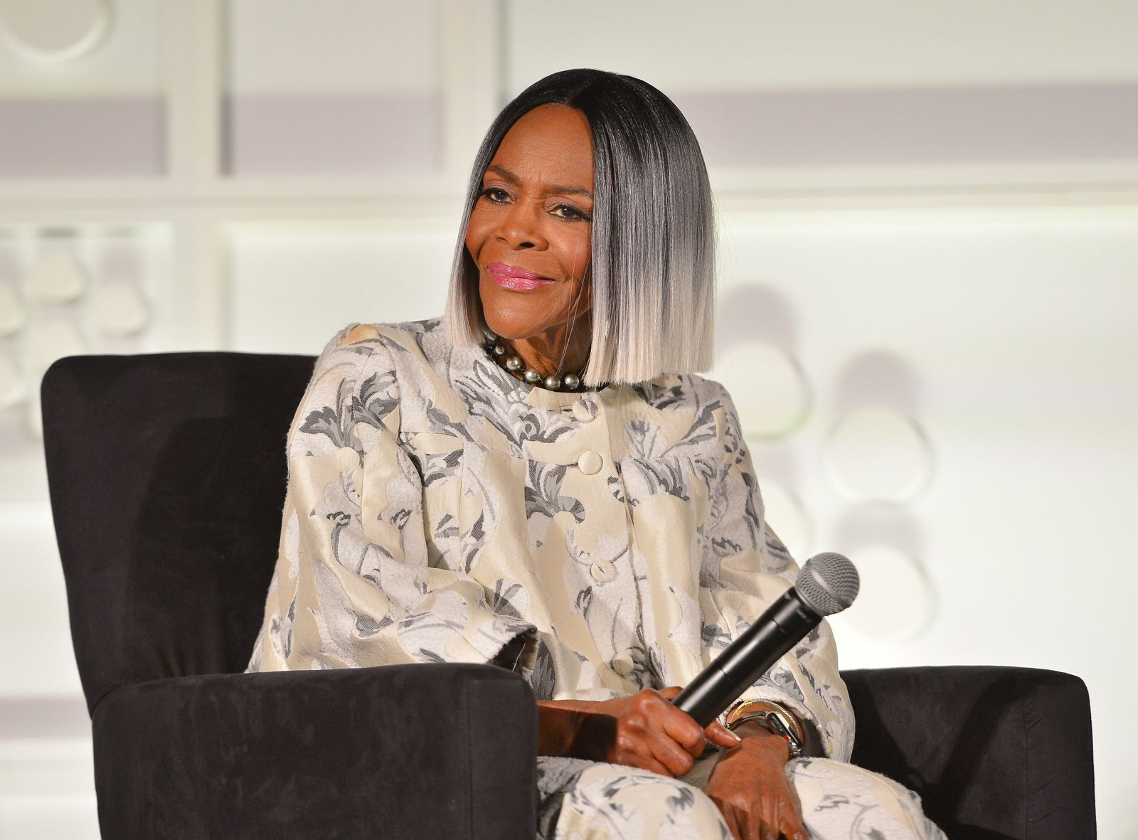 """Actor Cicely Tyson speaks onstage at the screening of """"Sounder"""" at Day 2 of the 2018 TCM Classic Film Festival on April 27, 2018 