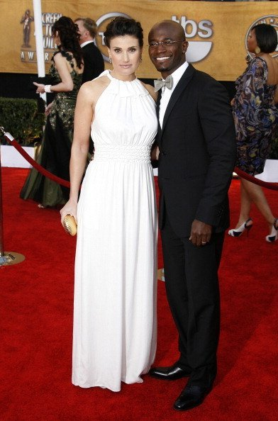 Taye Diggs and Idina Menzel at the 15th Annual Screen Actors Guild Awards on January 25, 2009 | Photo: Getty Images