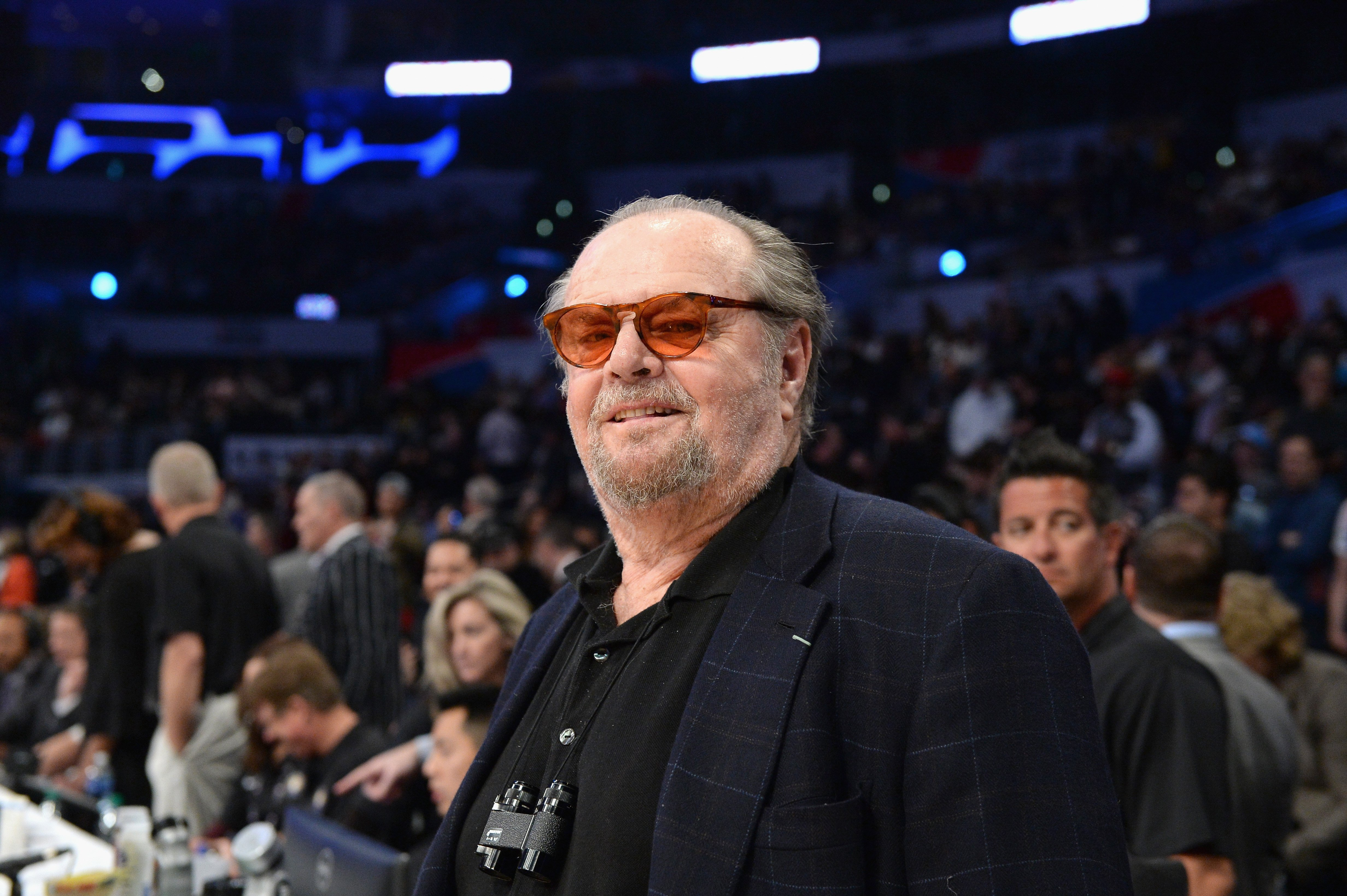 Jack Nicholson attends the NBA All-Star Game 2018 at Staples Center on February 18, 2018, in Los Angeles, California. | Source: Getty Images.