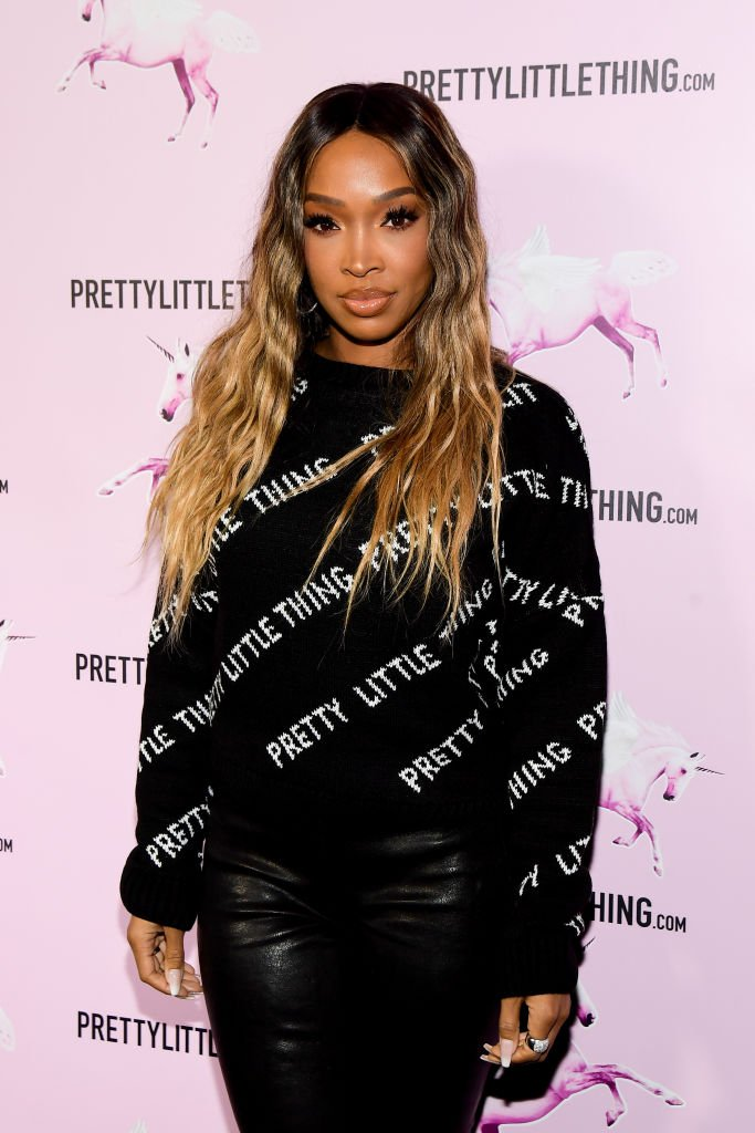 Malika Haqq attends the PrettyLittleThing LA Office Opening Party | Photo: Getty Images