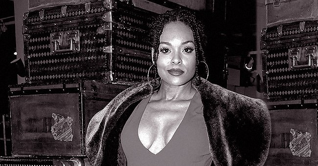 Demetria McKinney from 'House of Payne' Wears Form-Fitting Dress That Emphasizes Her Figure in Black & White Photo