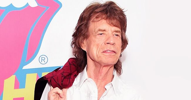 Mick Jagger's 2-Year-Old Son Devereaux Rocks on While His Father Performs on Stage