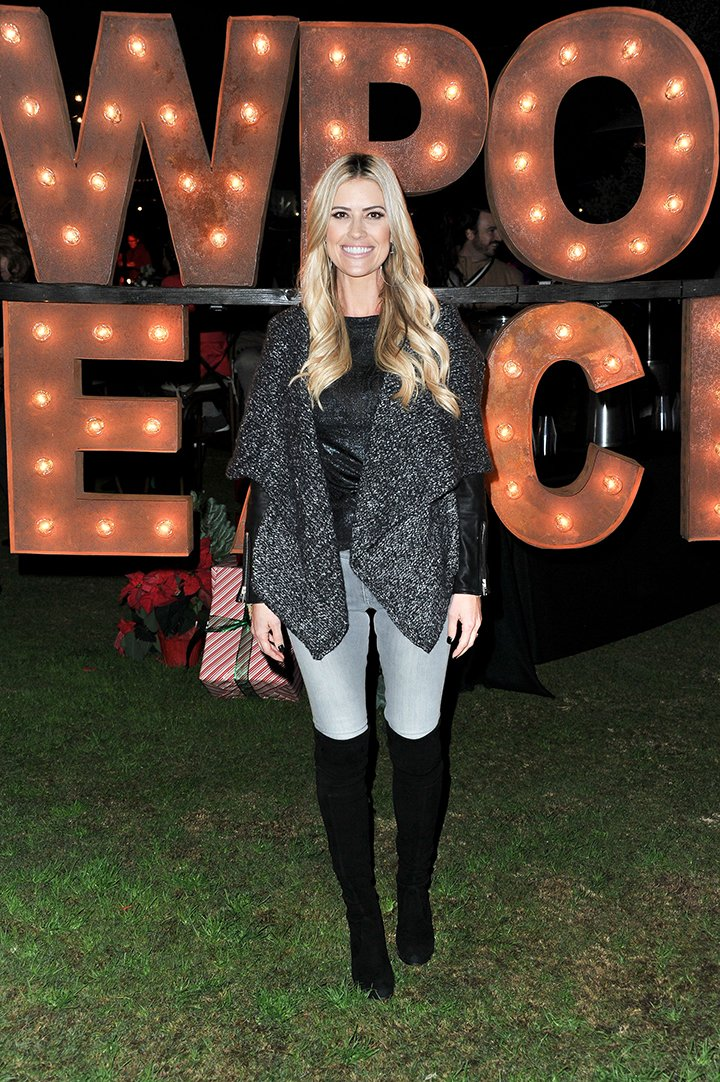 Christina Anstead attending the 111th Annual Newport Beach Christmas Boat Parade opening night at Marina Park in Newport Beach, California in December 2019. I Image: Getty Images.