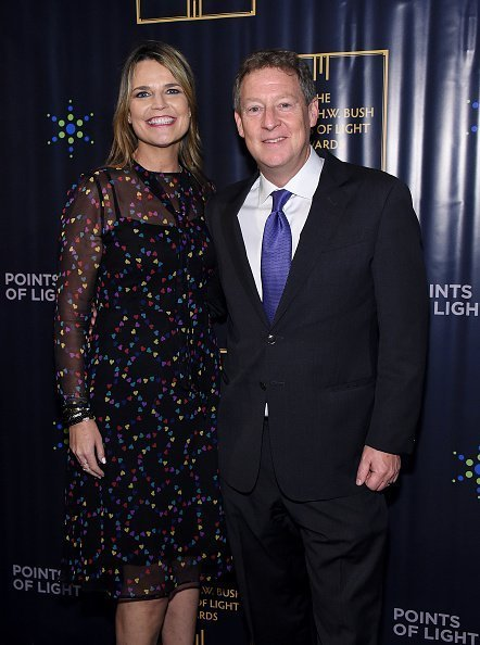 Savannah Guthrie and Michael Feldman attend The George H.W. Bush Points Of Light Awards Gala at Intrepid Sea-Air-Space Museum on September 26, 2019 in New York City | Photo: Getty Images