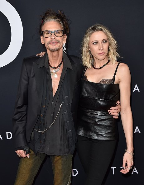 "Steven Tyler and Aimee Preston at the Premiere of 20th Century Fox's ""Ad Astra"" on September 18, 2019 