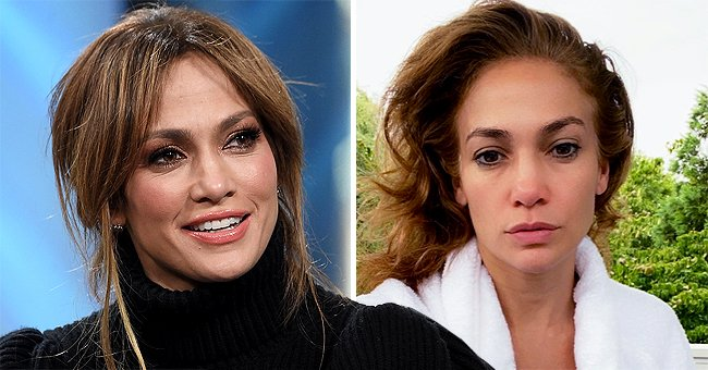 See Jennifer Lopez's Morning Look in This Stunning Makeup-Free Selfie