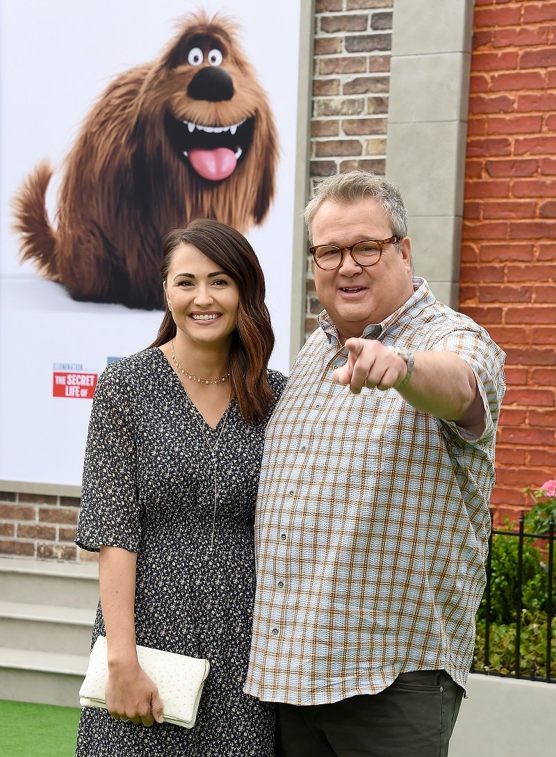 Lindsay Schweitzer and Eric Stonestreet  in Westwood, California on June 2, 2019   Photo: Getty Images