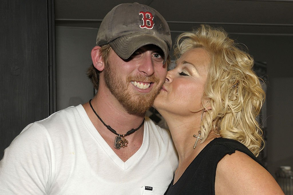 Lorrie Morgan and Jesse Keith Whitley at the Jesse Keith Whitley CD release party, May 2011 | Source: Getty Images
