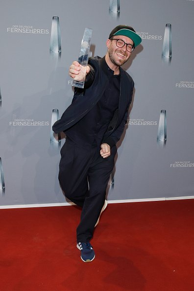 Mark Forster, Deutscher Fernsehpreis 2018 | Quelle: Getty Images