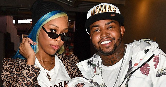 Lil Scrappy's Pregnant Wife Bambi Looks Glamorous In a One-Sleeve Silver Ensemble in IG Post