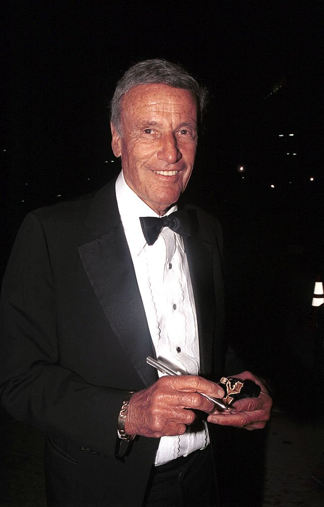 Richard Anderson at the ABC Television Network's 50th Anniversary Special at the Pantages Theatre on March 16, 2003 | Photo: Getty Images