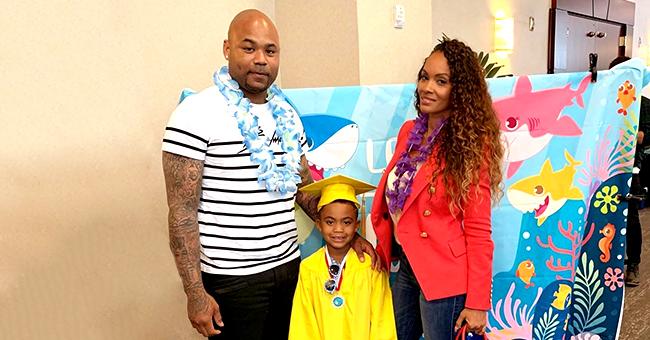 Evelyn Lozada & Carl Crawford Reunite to Celebrate Son's Preschool Graduation