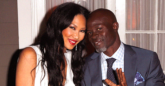 Kimora Lee Simmons May Not Be Reason behind Djimon Hounsou's Father's Day Complaint