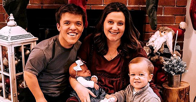 Zach and Tori Roloff from 'Little People, Big World' Are All Smiles as They Pose with Son Jackson & Newborn Lilah in Thanksgiving Pics