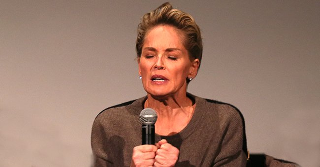 """Sharon Stone attends a Q&A following the screening of """"My Name Is Water"""" at the 2014 Hollywood Film Festival Opening Night Gala and Q&A at ArcLight Hollywood on October 16, 2014 in Hollywood, California 