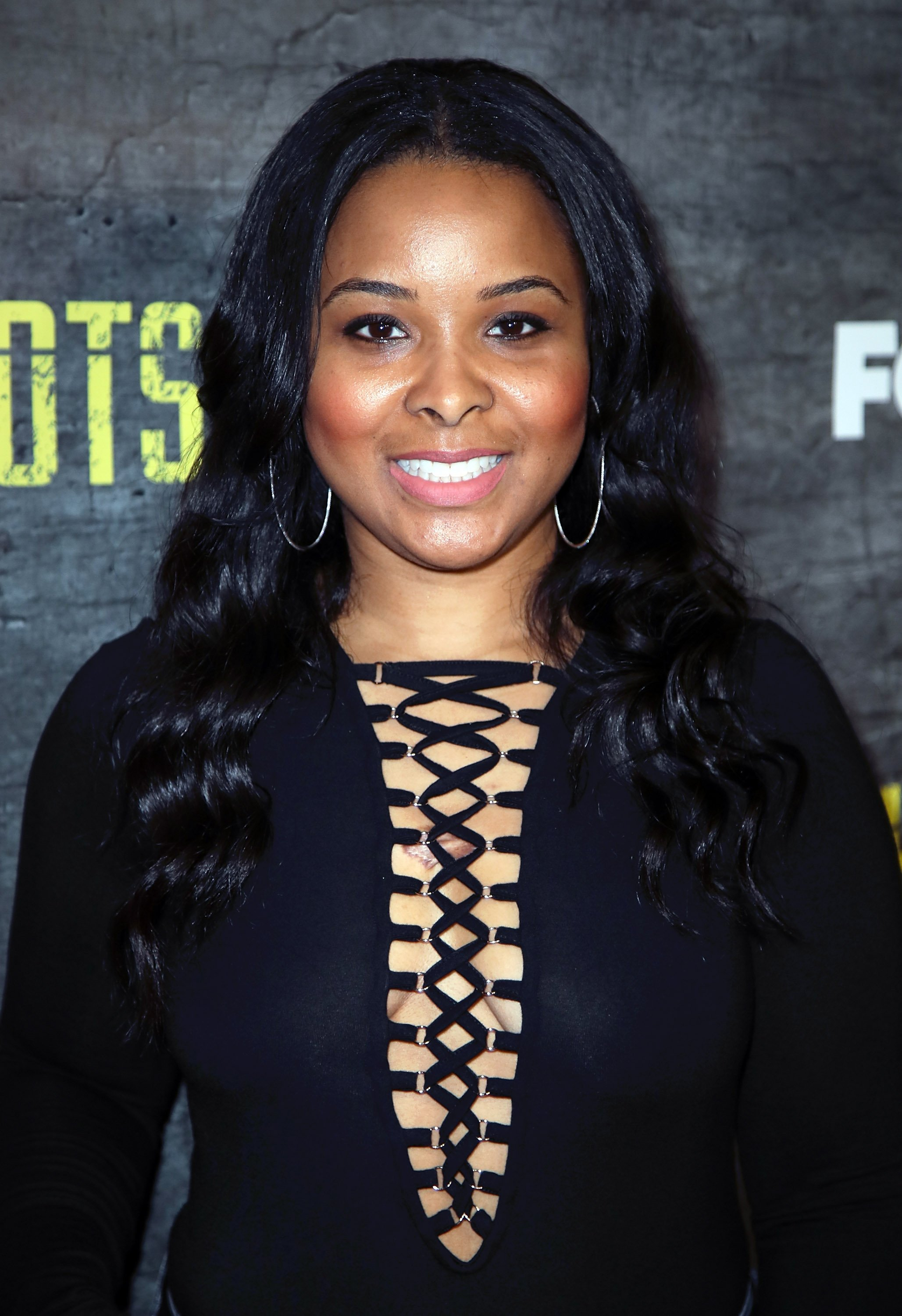 """Mechelle McCain attends a screening and discussion of FOX's """"Shots Fired"""" at Pacific Design Center on March 16, 2017 in West Hollywood, California. 