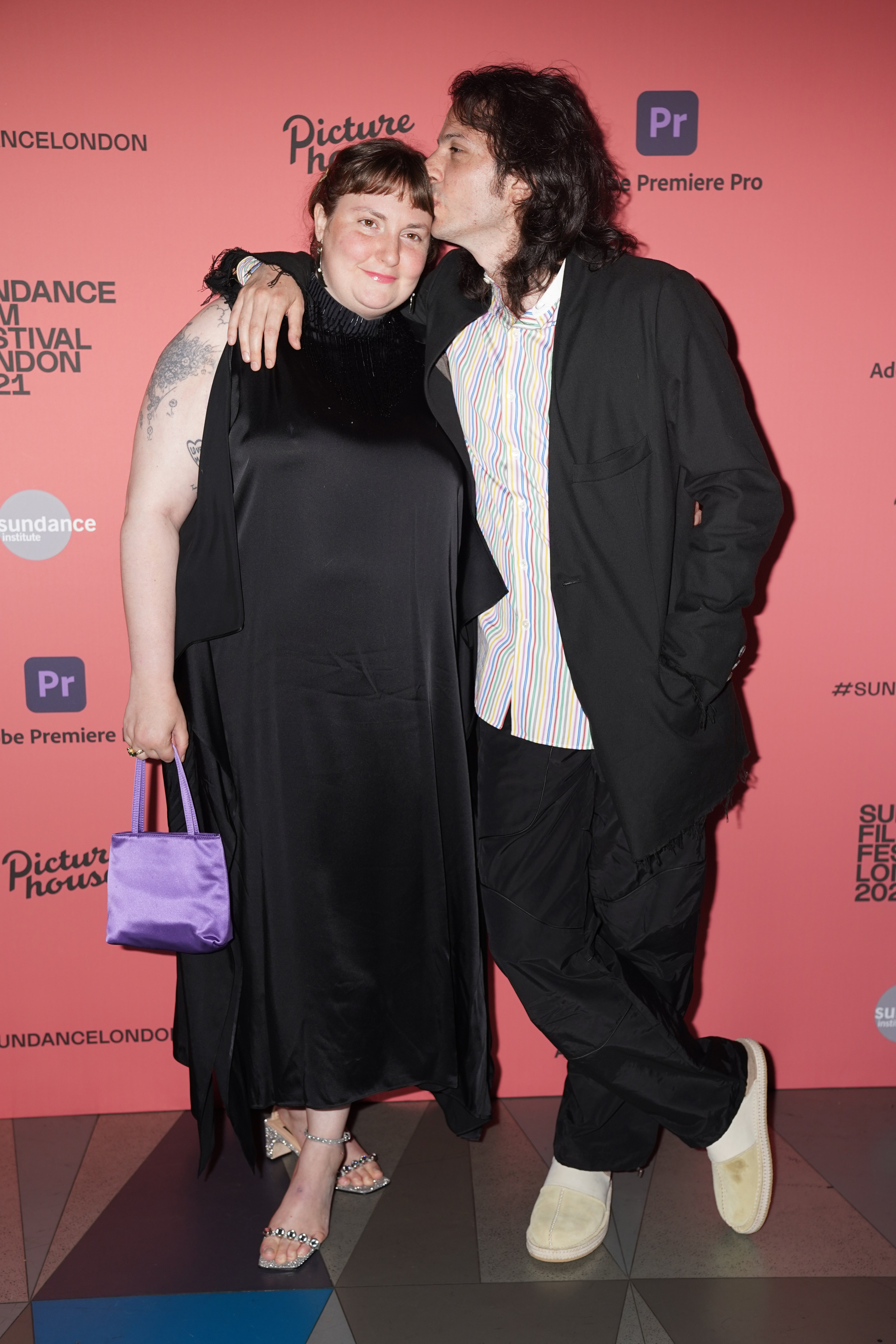 Lena Dunham and Luis Felber attend the Sundance London Film Festival screening of Zola, August 2021. | Photo: Getty Image