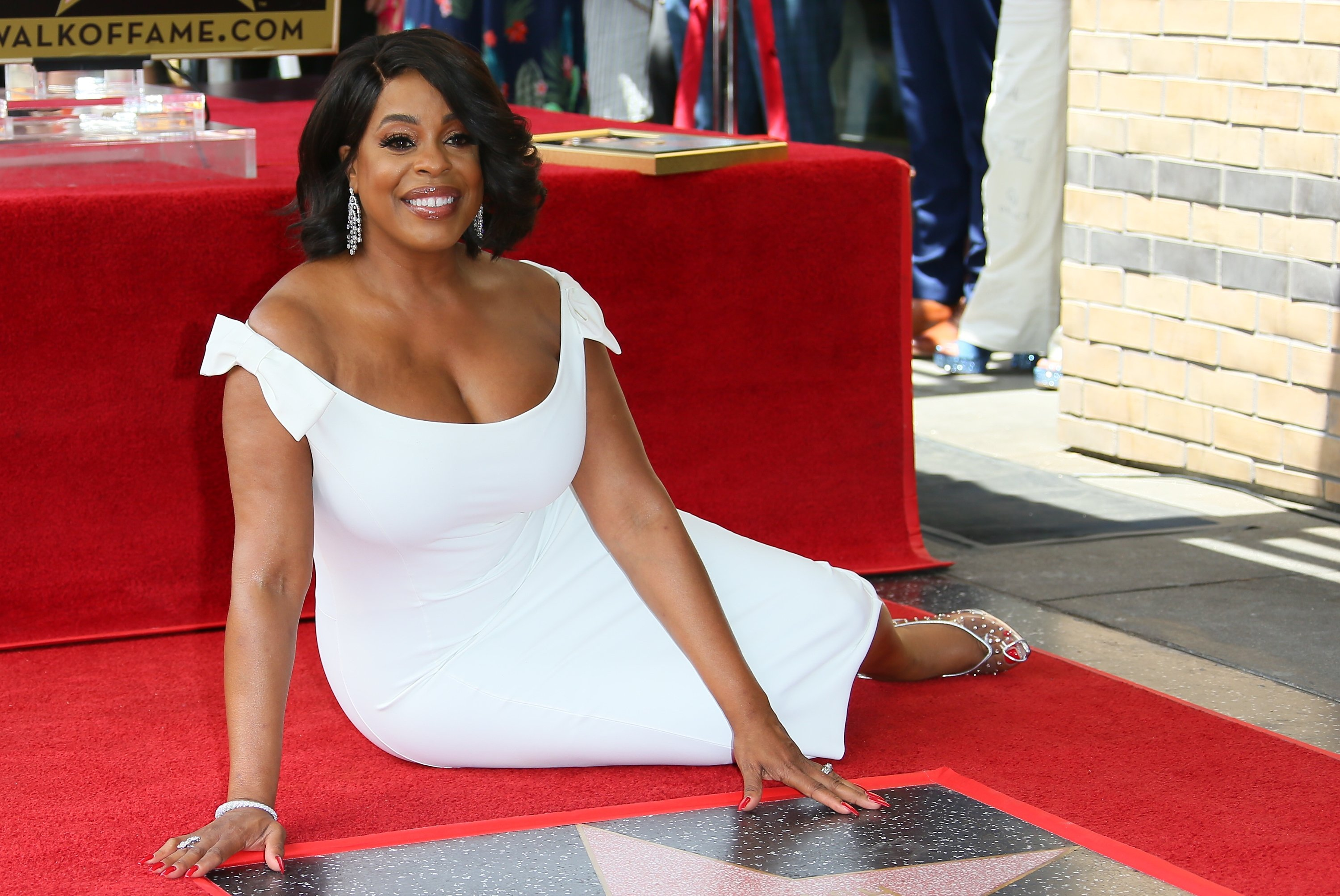 Niecy Nash receives a star on the Hollywood Walk of Fame on July 11, 2018 in Los Angeles, California.   Source: Getty Images