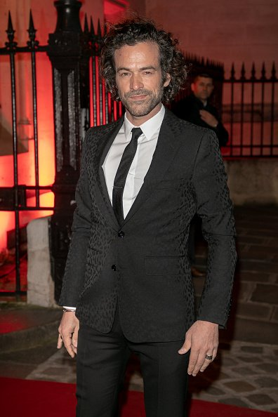 "L'acteur Romain Duris assiste au lancement du ""Clash De Cartier"". 